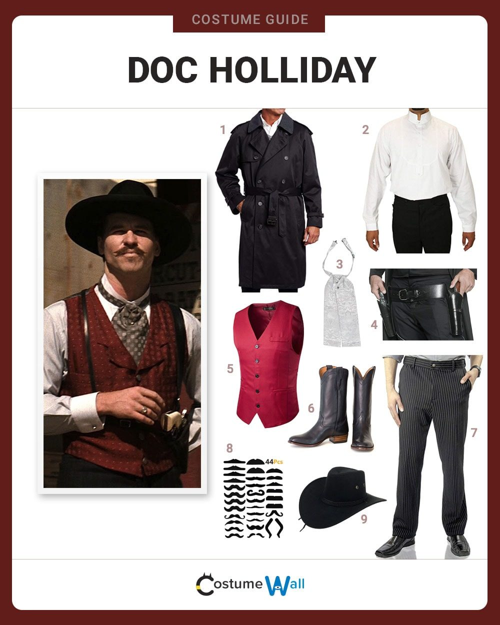 Dress Like Doc Holliday Costume Halloween And Cosplay Guides