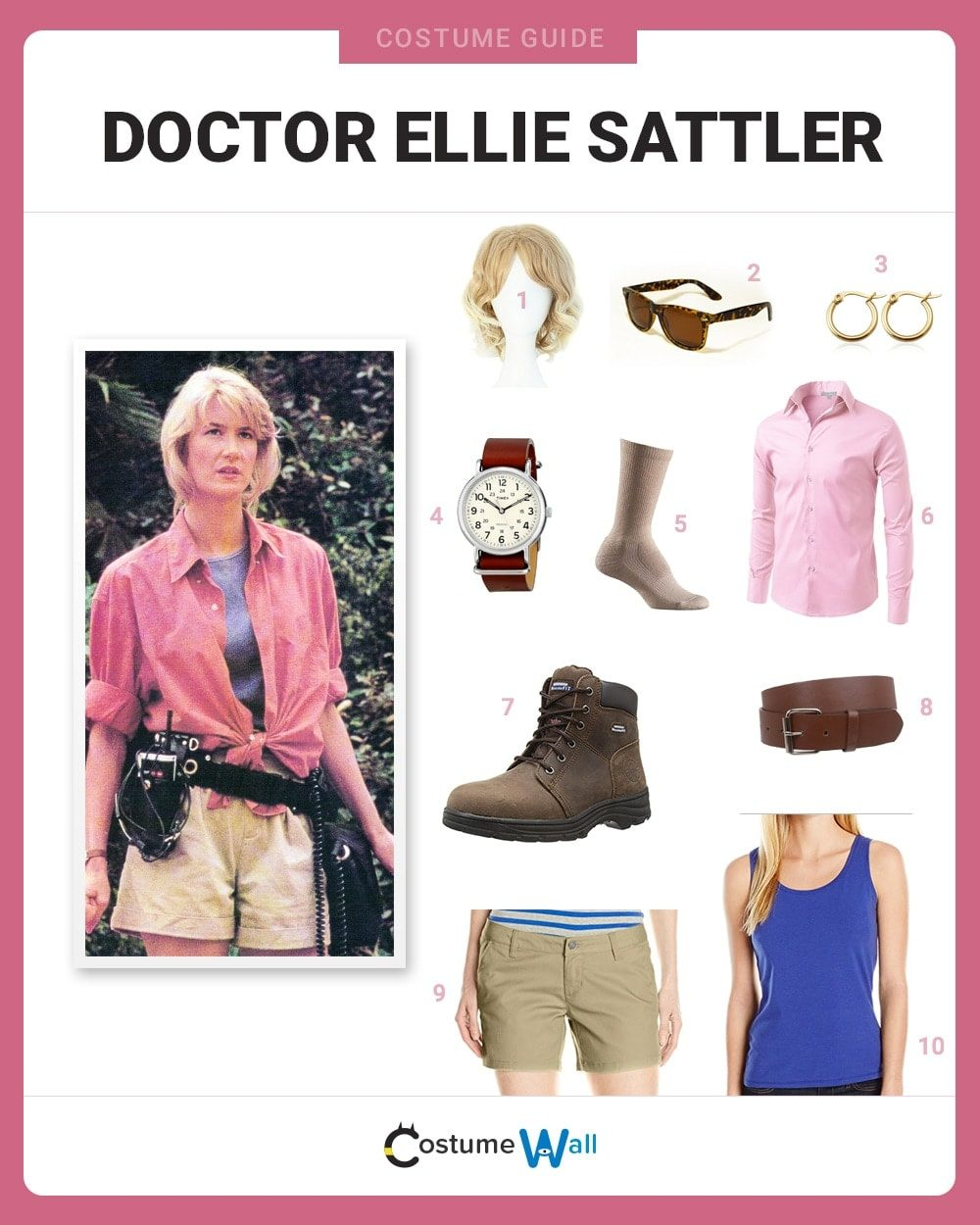 2e5f8fafada Dress Like Dr. Ellie Sattler Costume