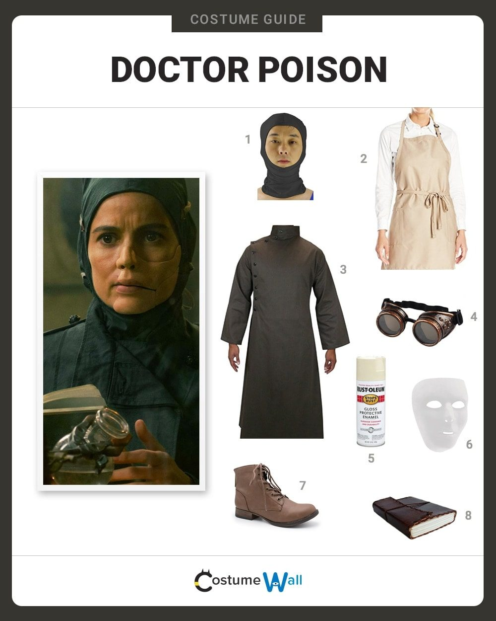 Doctor Poison Costume Guide