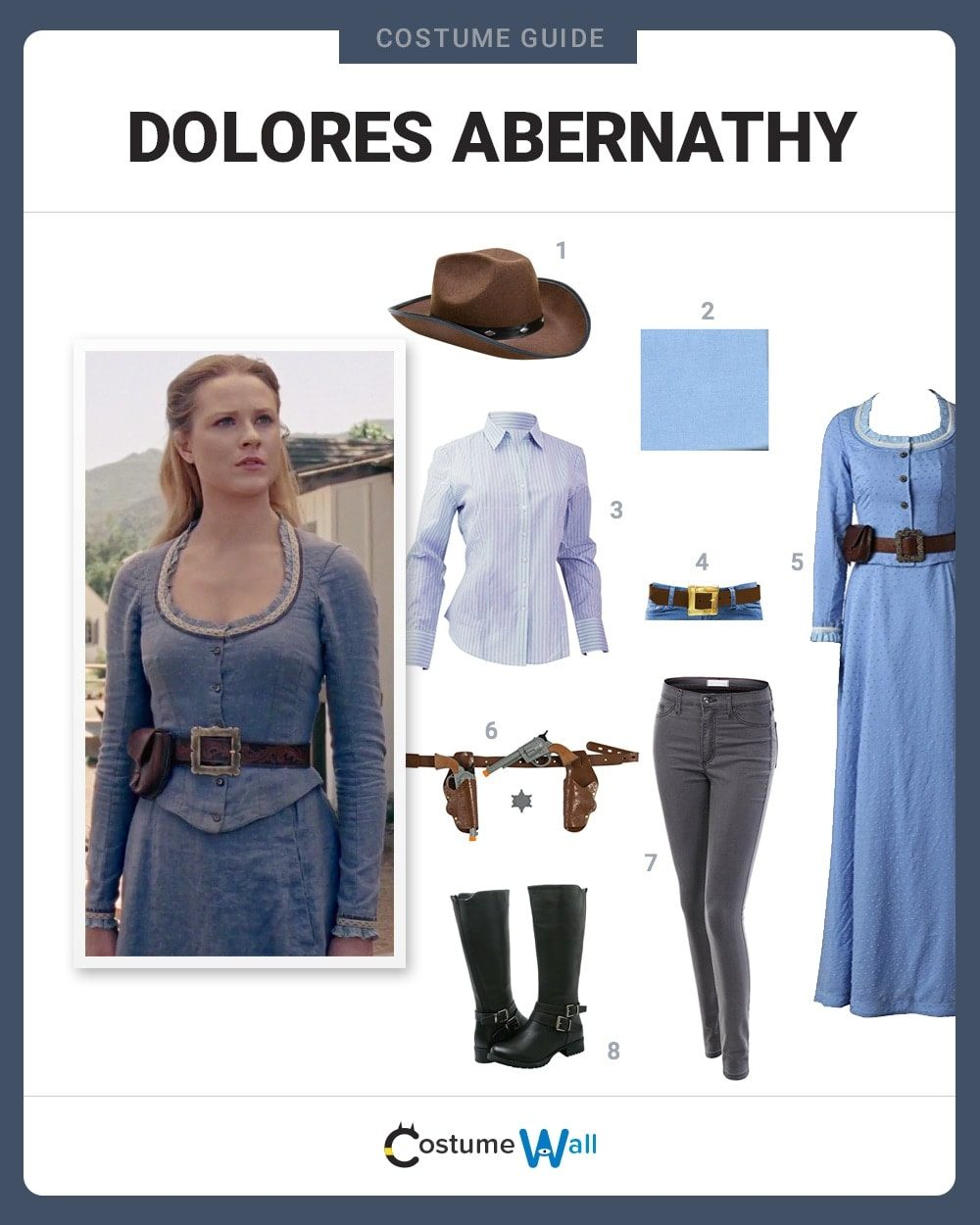 Dolores Abernathy Costume Guide