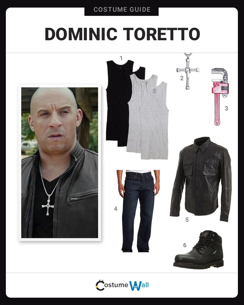 Dominic Toretto Costume