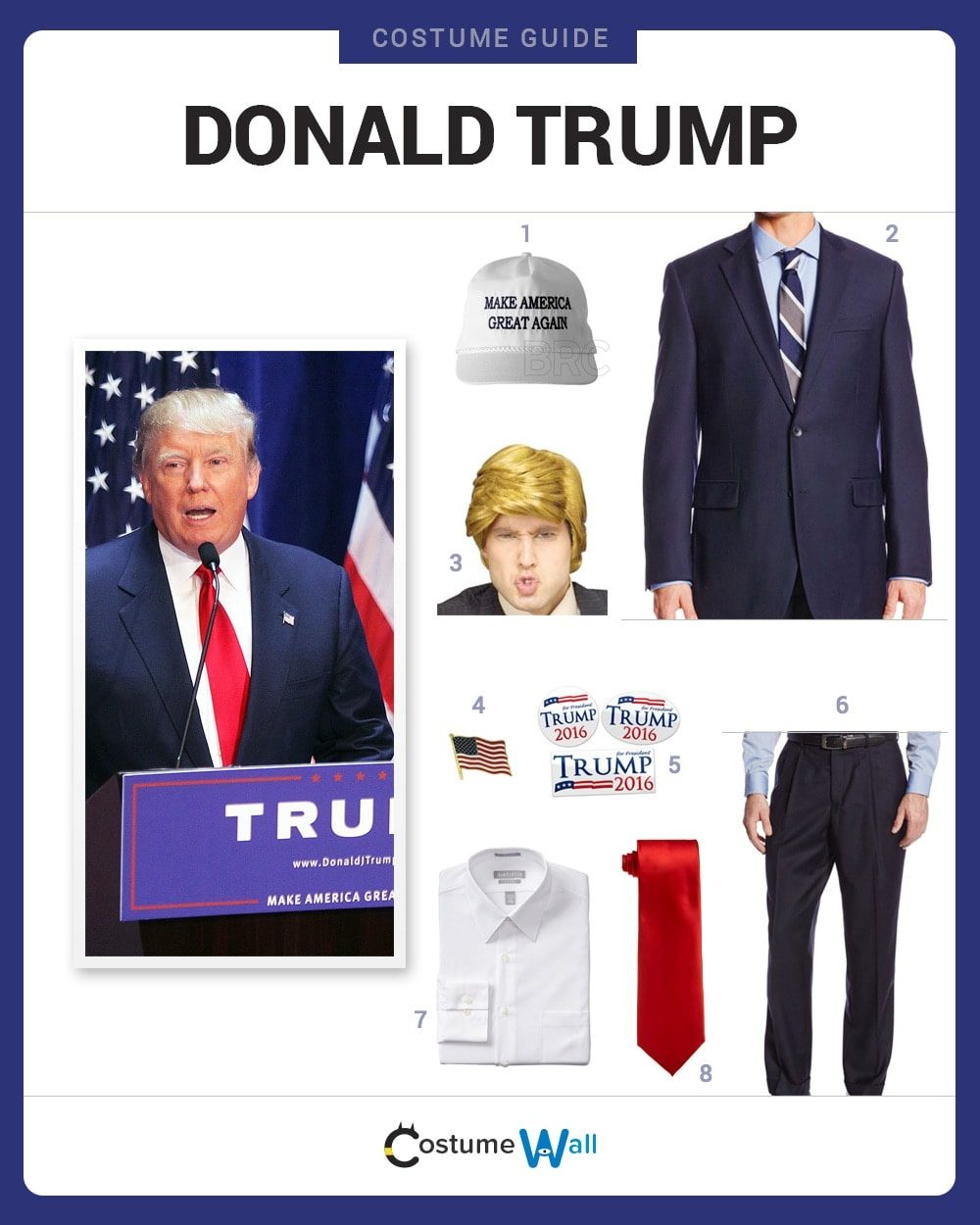 Donald Trump Costume Guide
