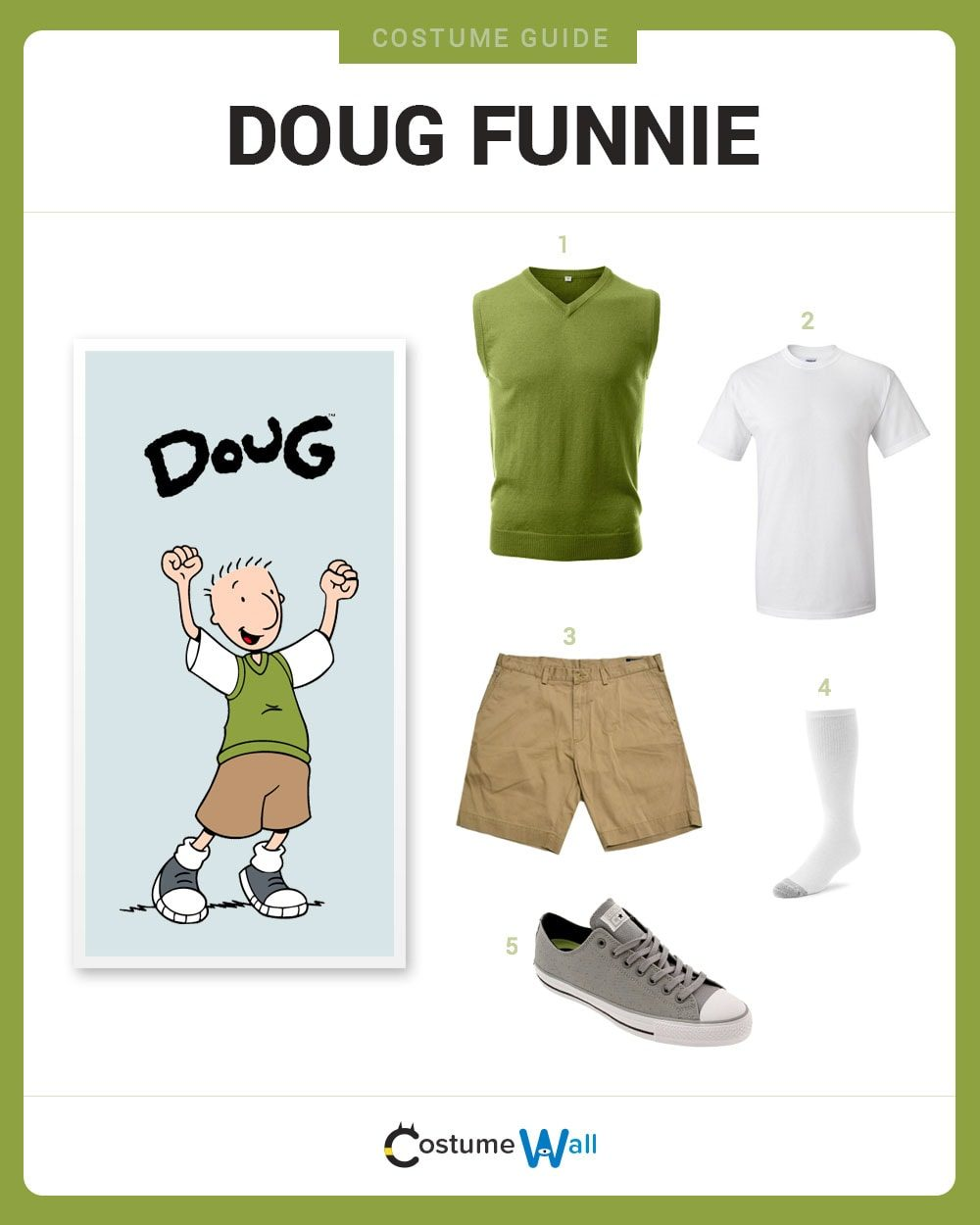 Doug Funnie And Patty Mayonnaise Halloween Costume