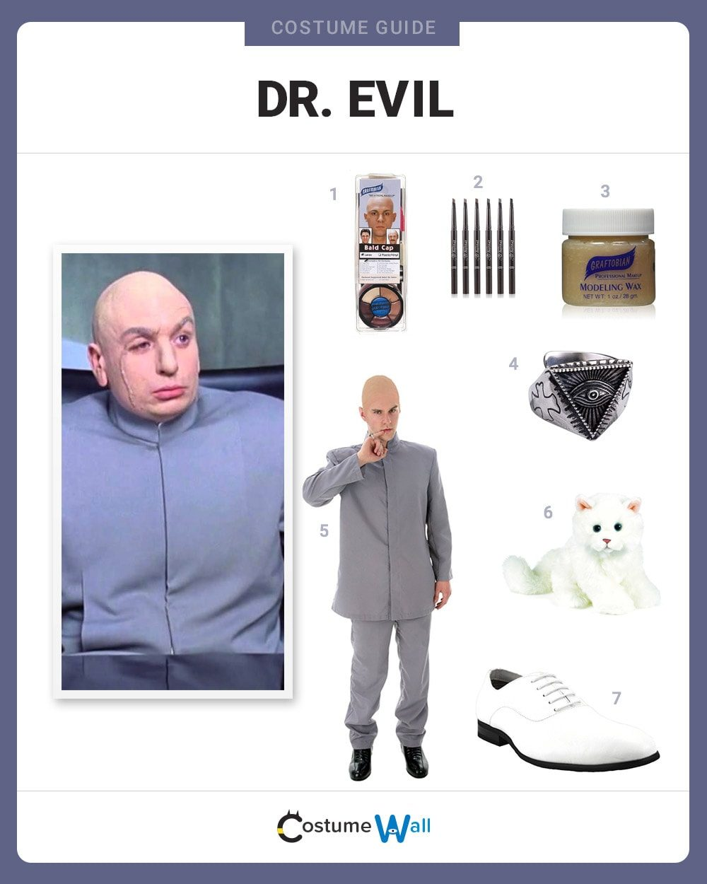 dress like dr evil costume halloween and cosplay guides