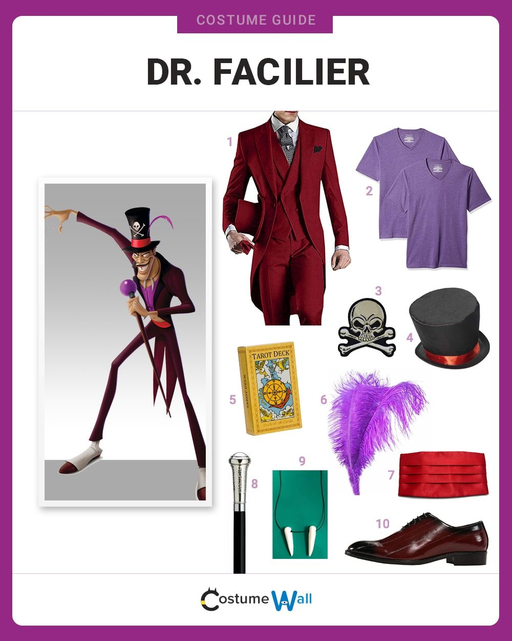 Dr. Facilier Costume Guide