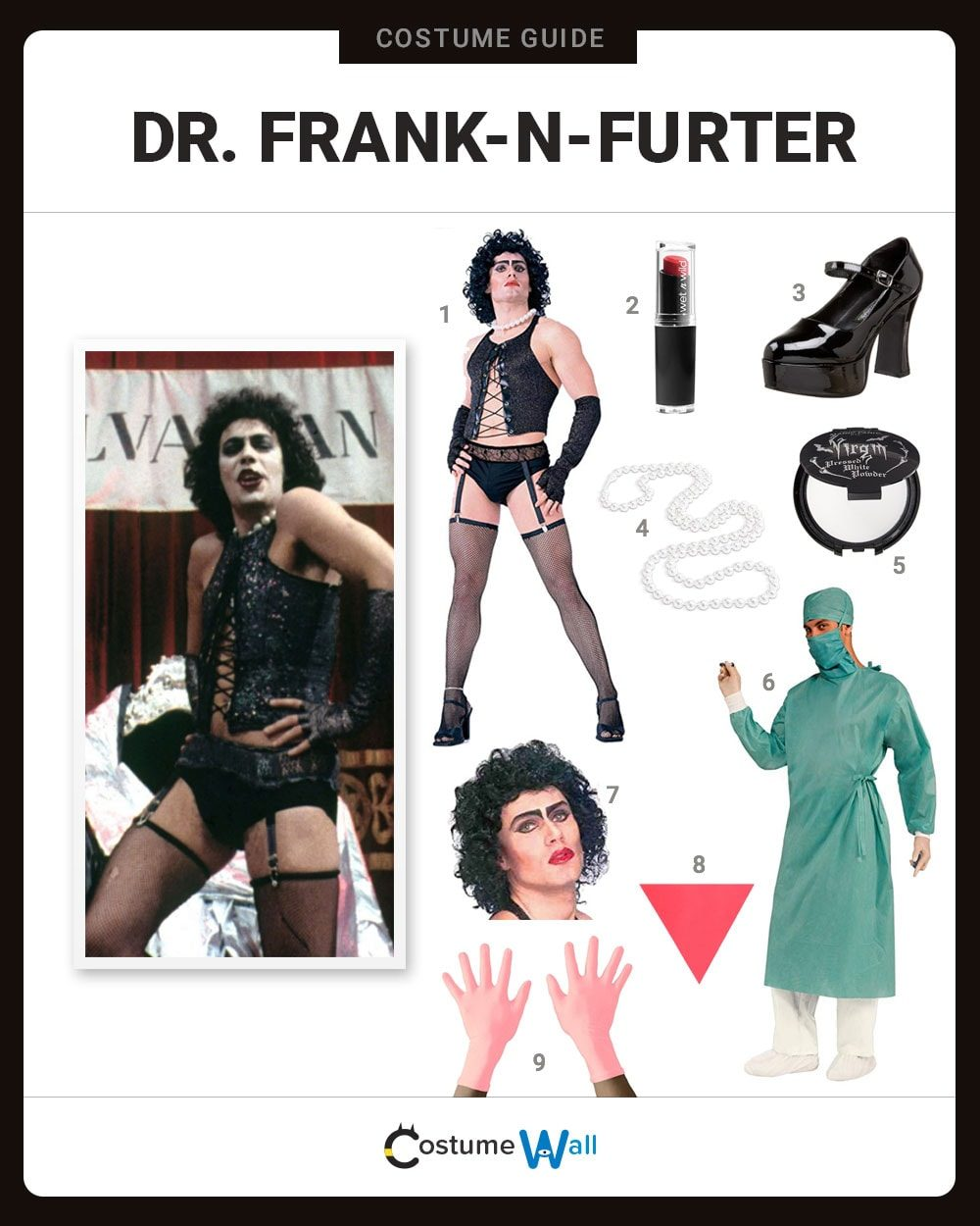 Dr. Frank-N-Furter Costume Guide