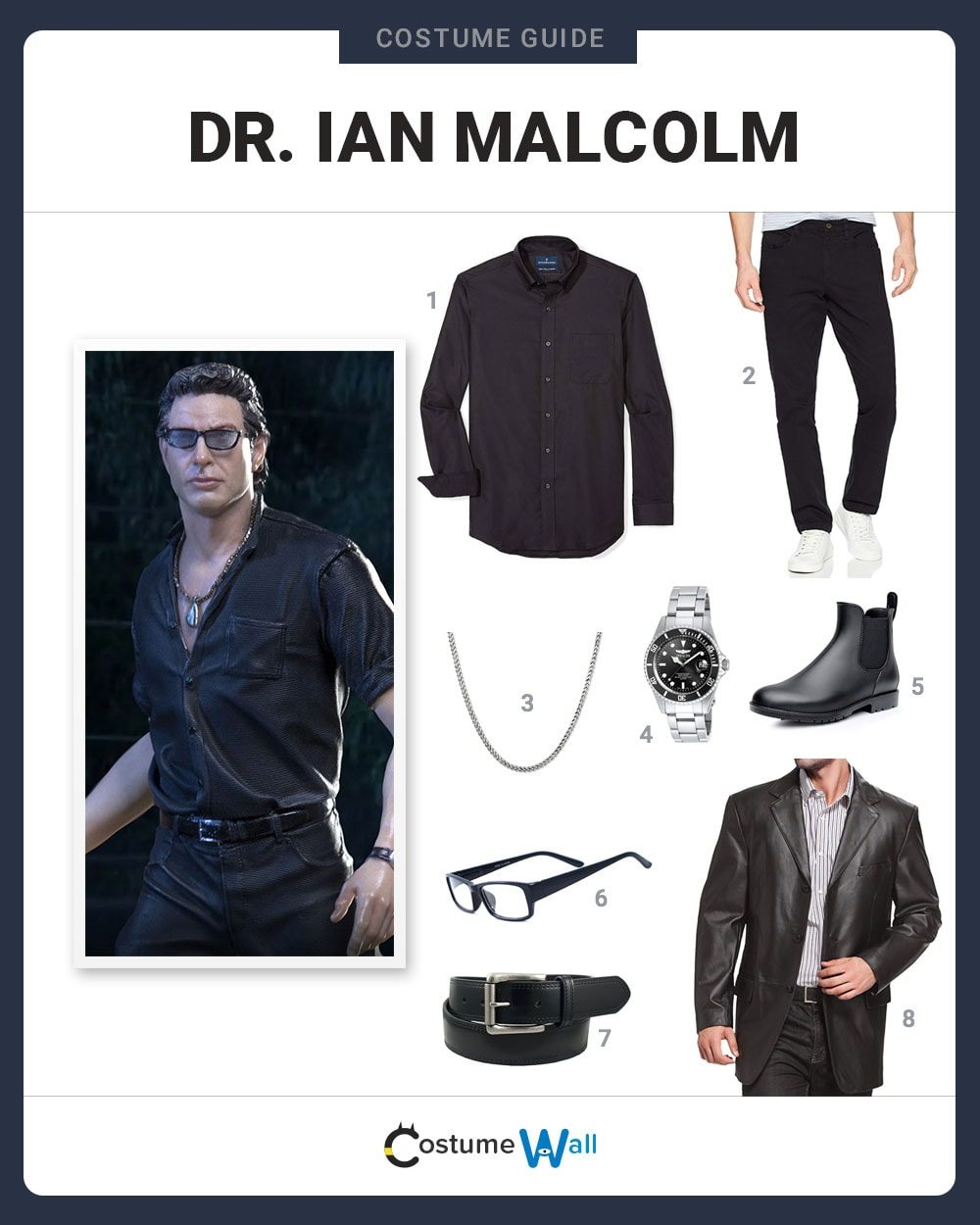 Dr. Ian Malcolm Costume Guide