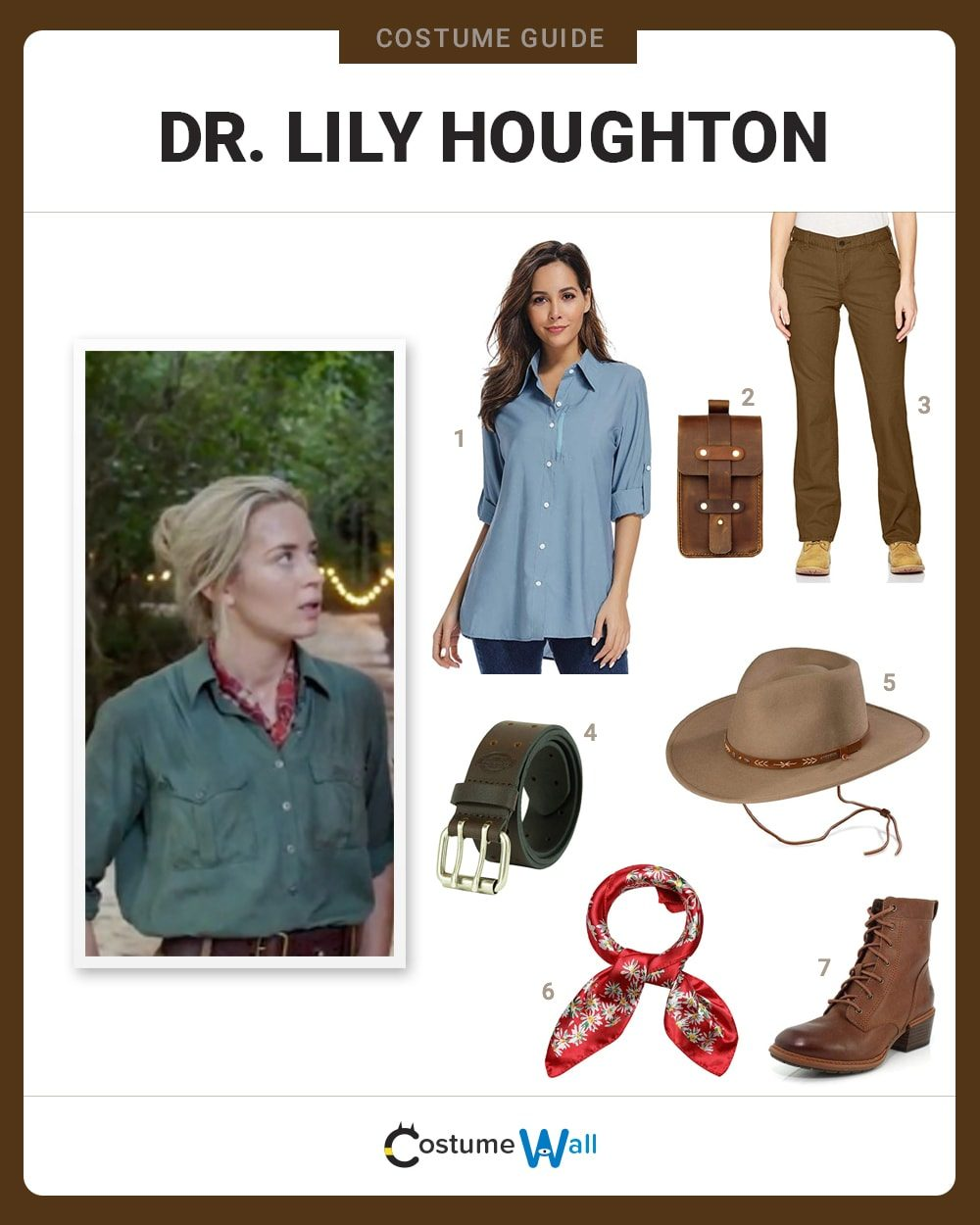Dr. Lily Houghton Costume Guide