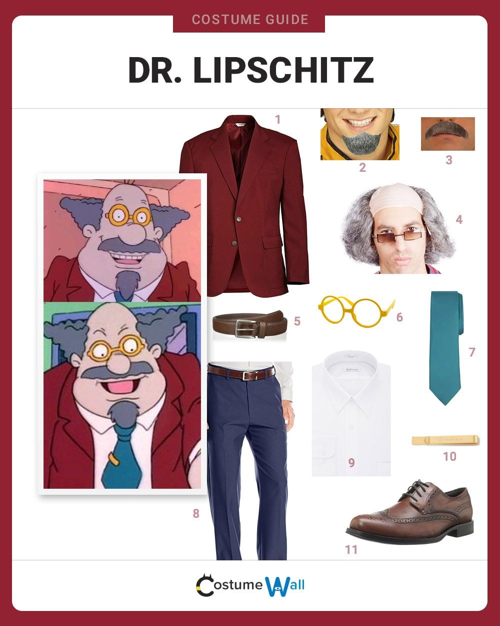 Dr. Lipschitz Costume Guide