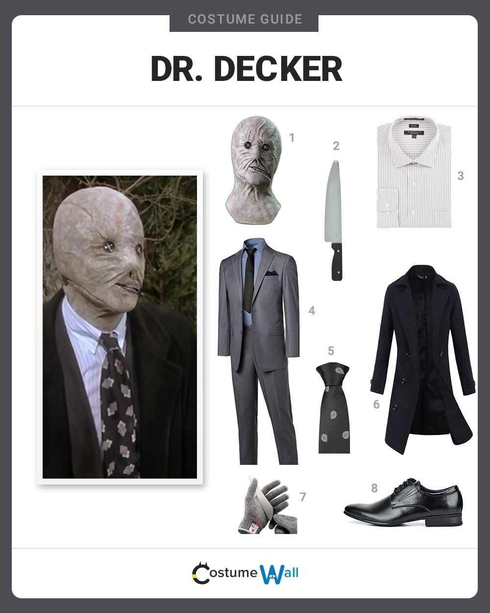 Dr. Phillip Decker Costume Guide