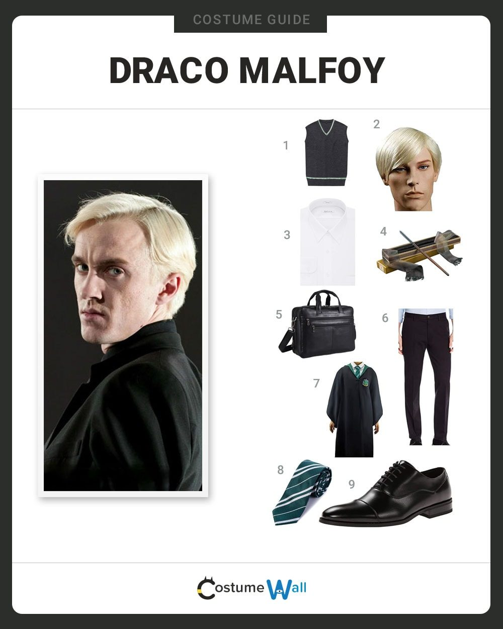 Draco Malfoy Costume Guide
