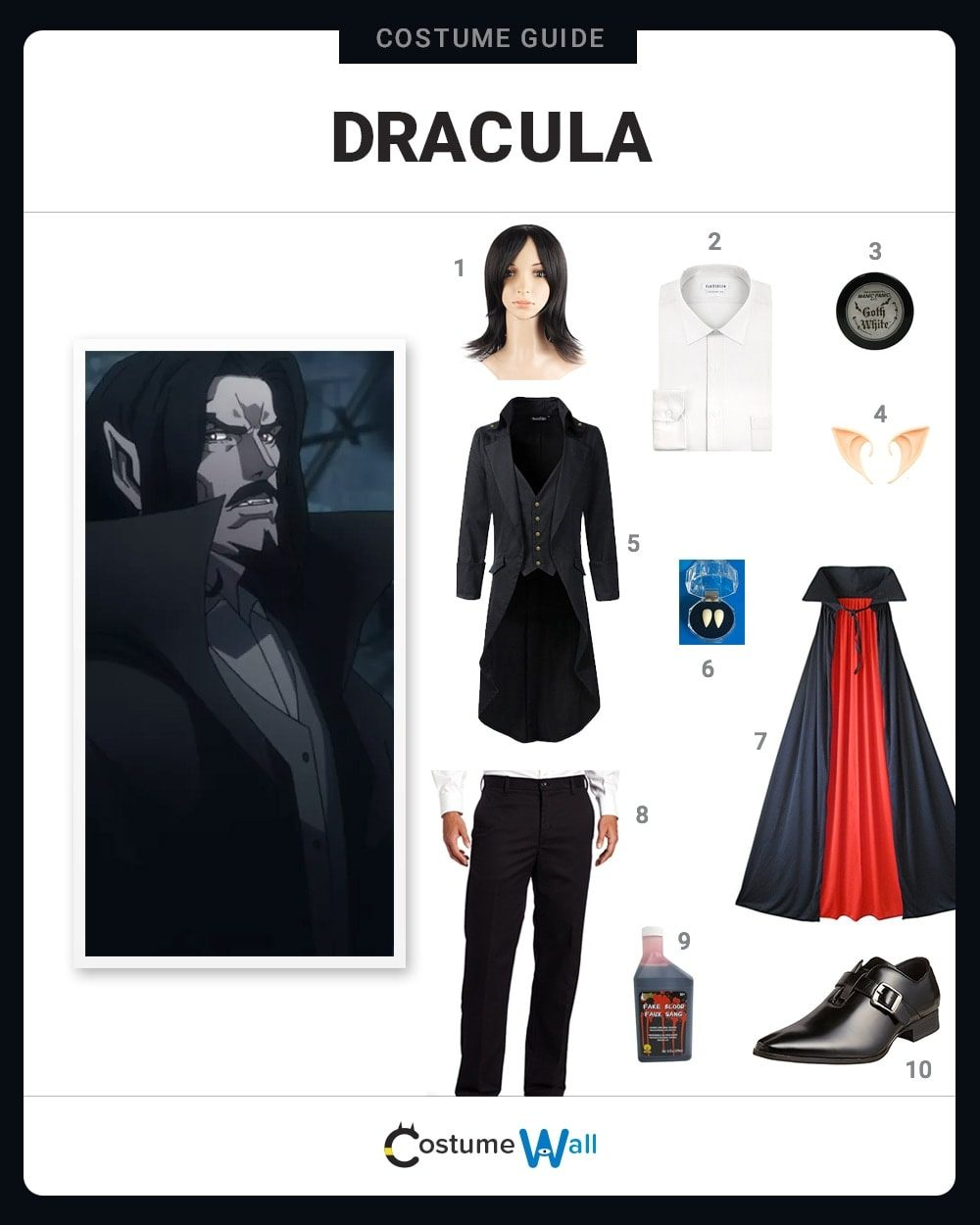 Count Dracula Costume Guide