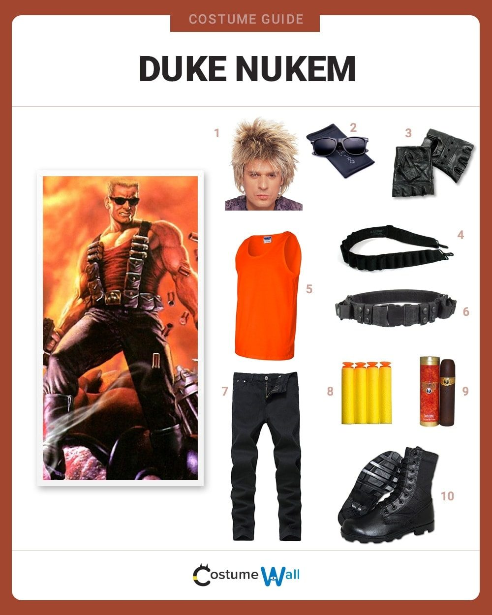 Duke Nukem Costume Guide