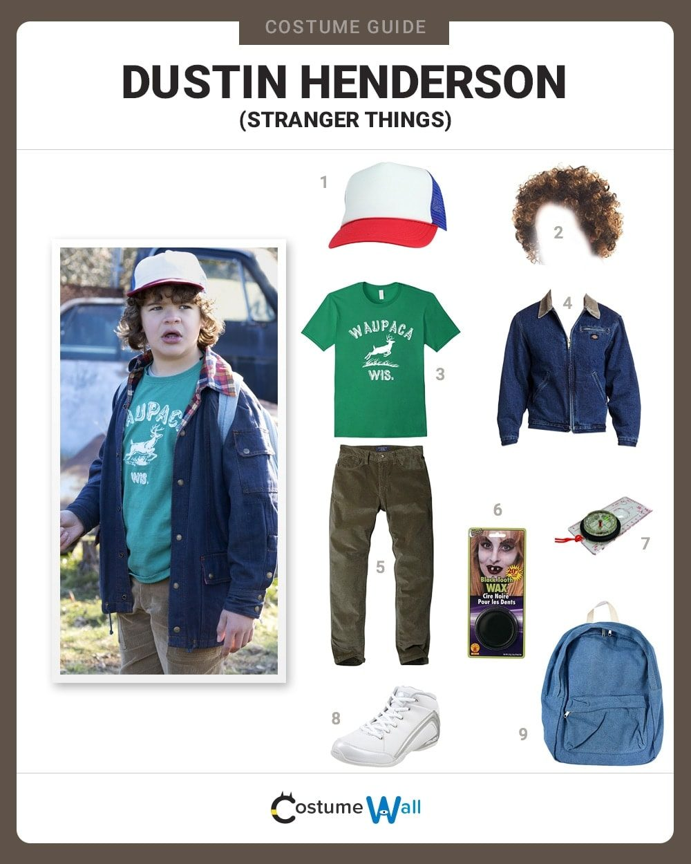 Dress Like Dustin Henderson Costume | Halloween and Cosplay Guides