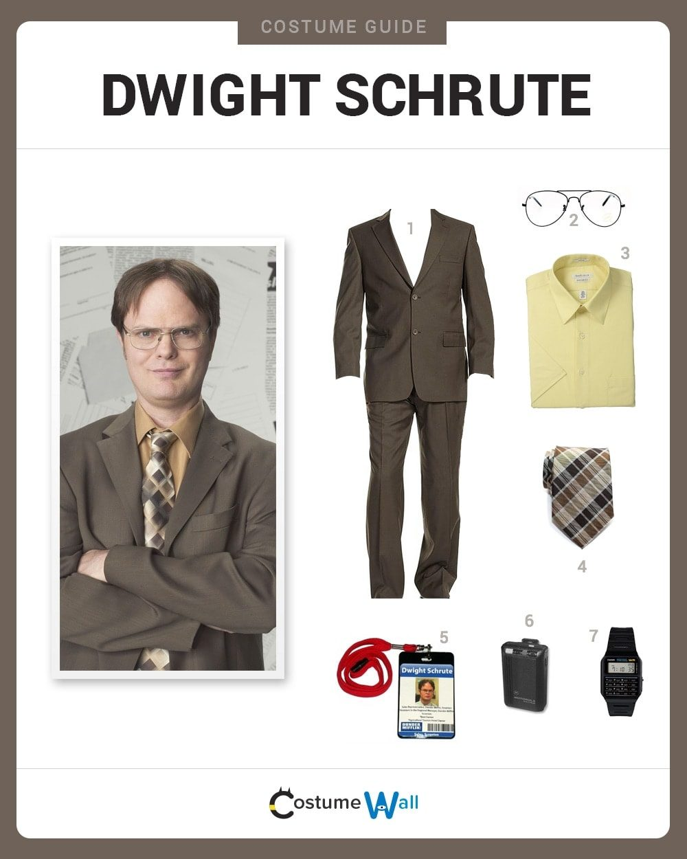 Dwight Schrute Costume Guide