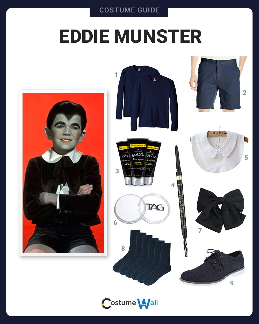 Eddie Munster Costume Guide
