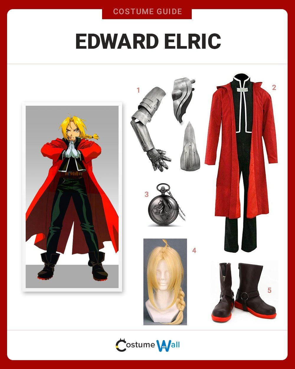 Edward Elric Costume Guide