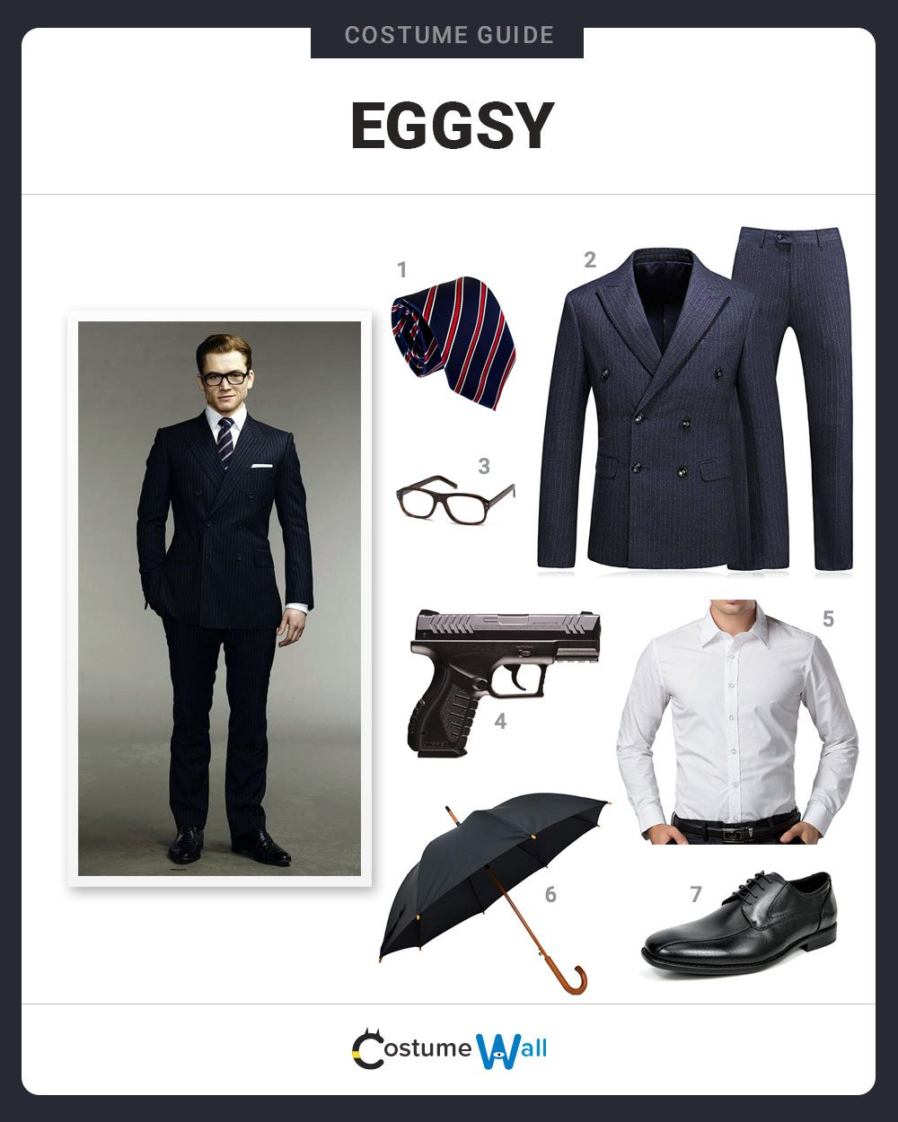 Eggsy Costume Guide