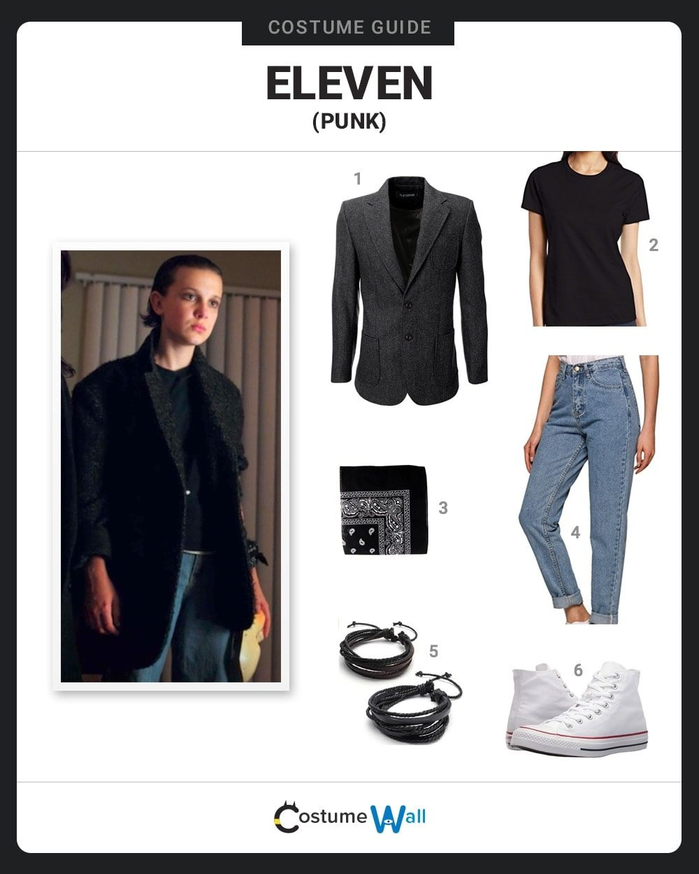 Eleven (Punk) Costume Guide