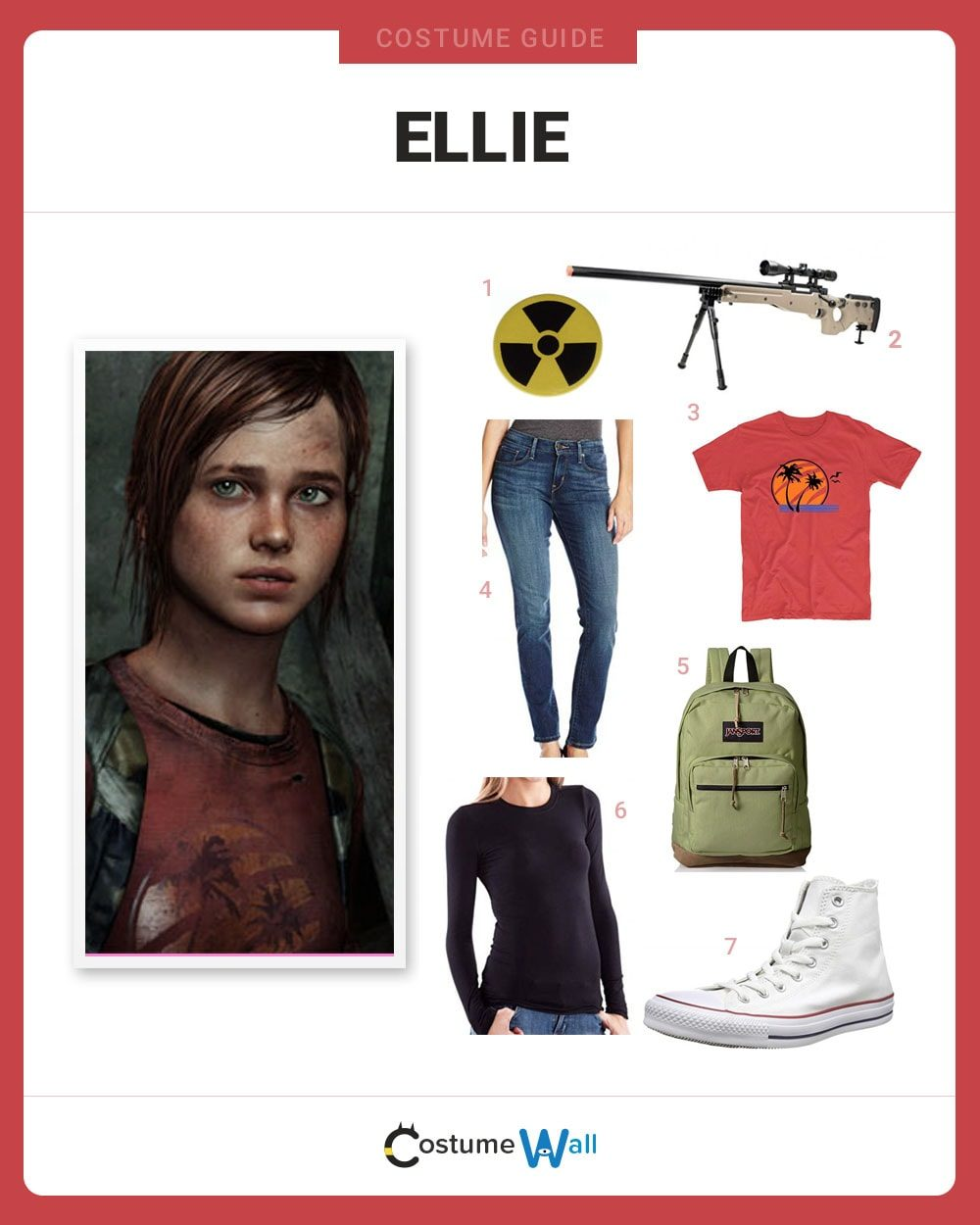 Ellie Costume Guide