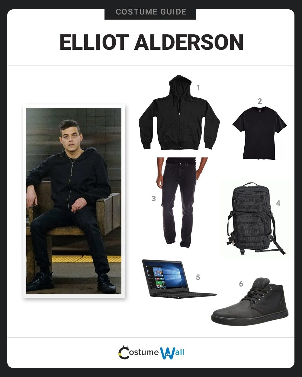 Elliot Alderson Costume Guide
