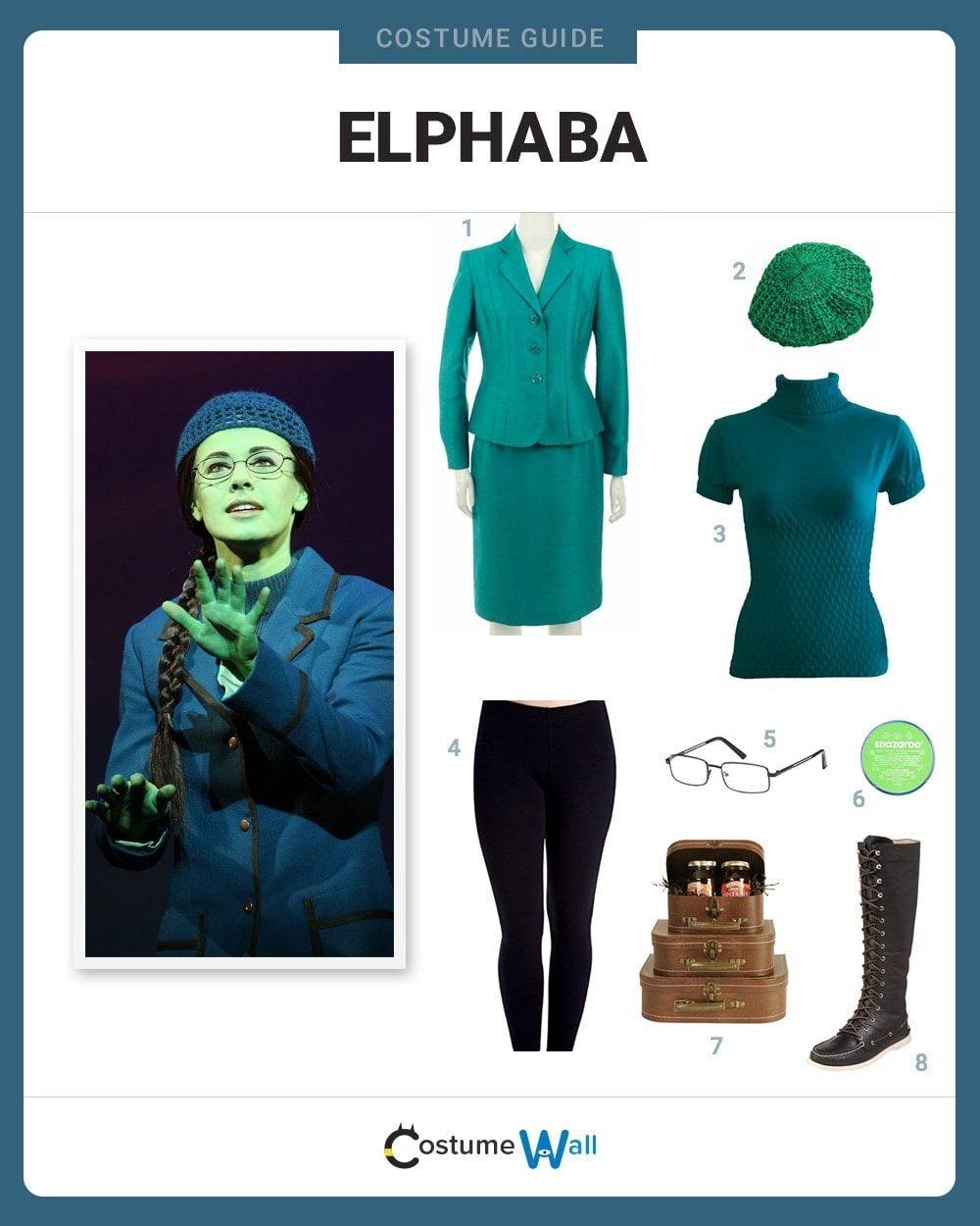Elphaba from Wicked Costume Guide