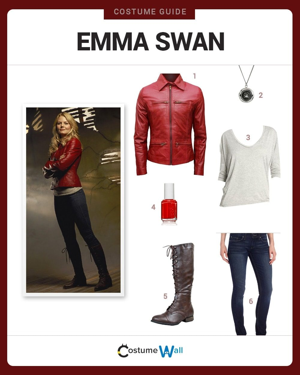 Emma Swan Costume Guide