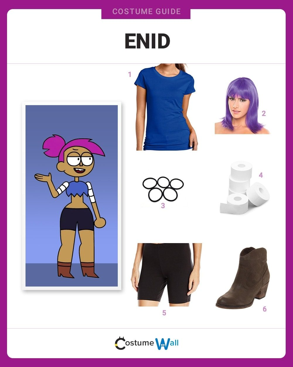 Enid Costume Guide