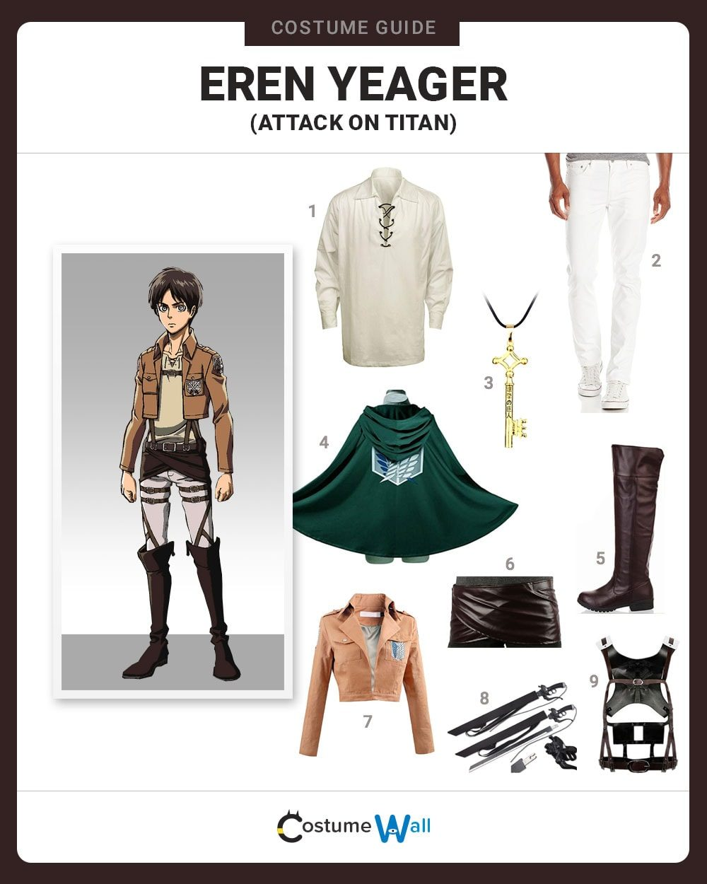 Eren Yeager Costume Guide