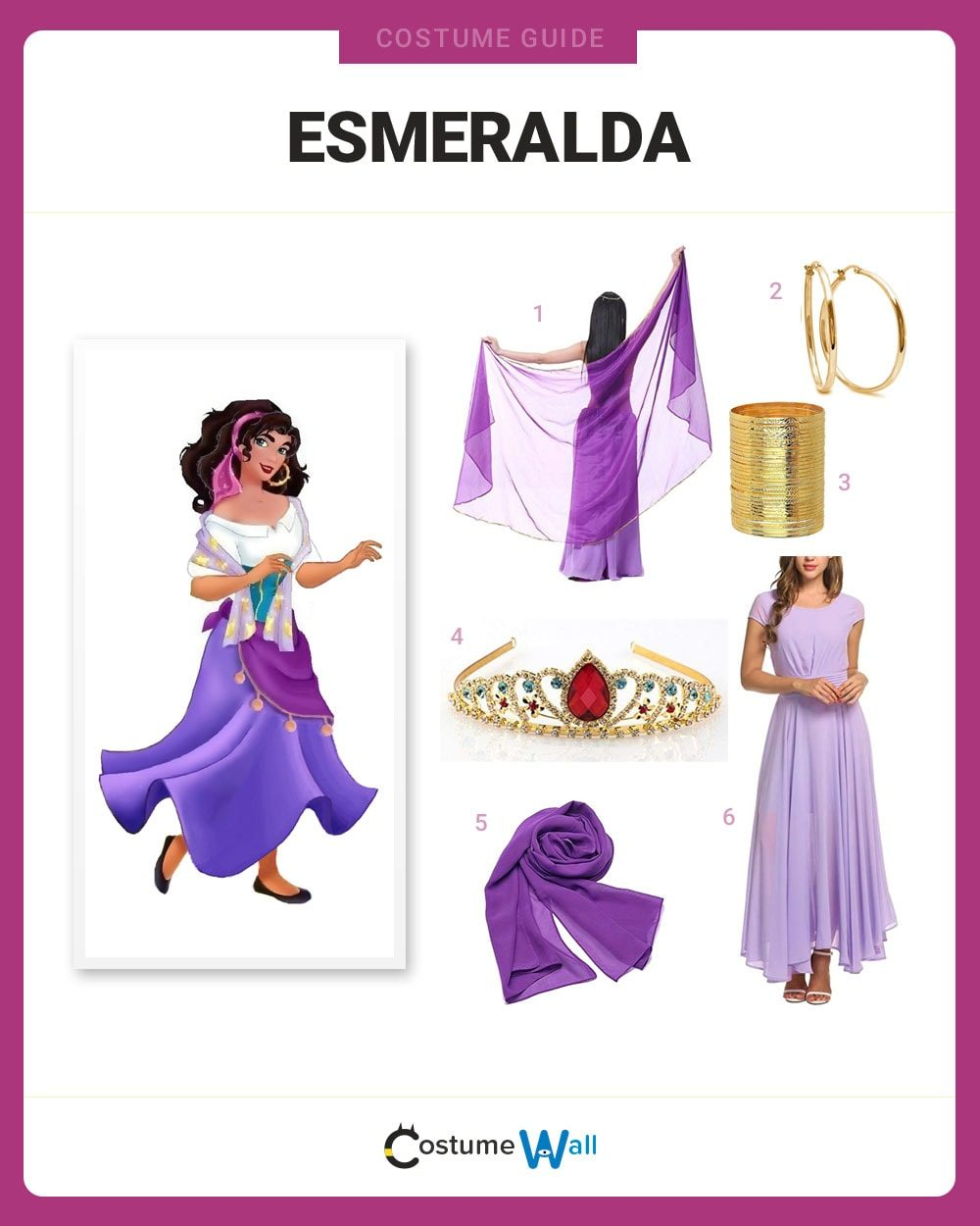 Esmeralda Costume Guide