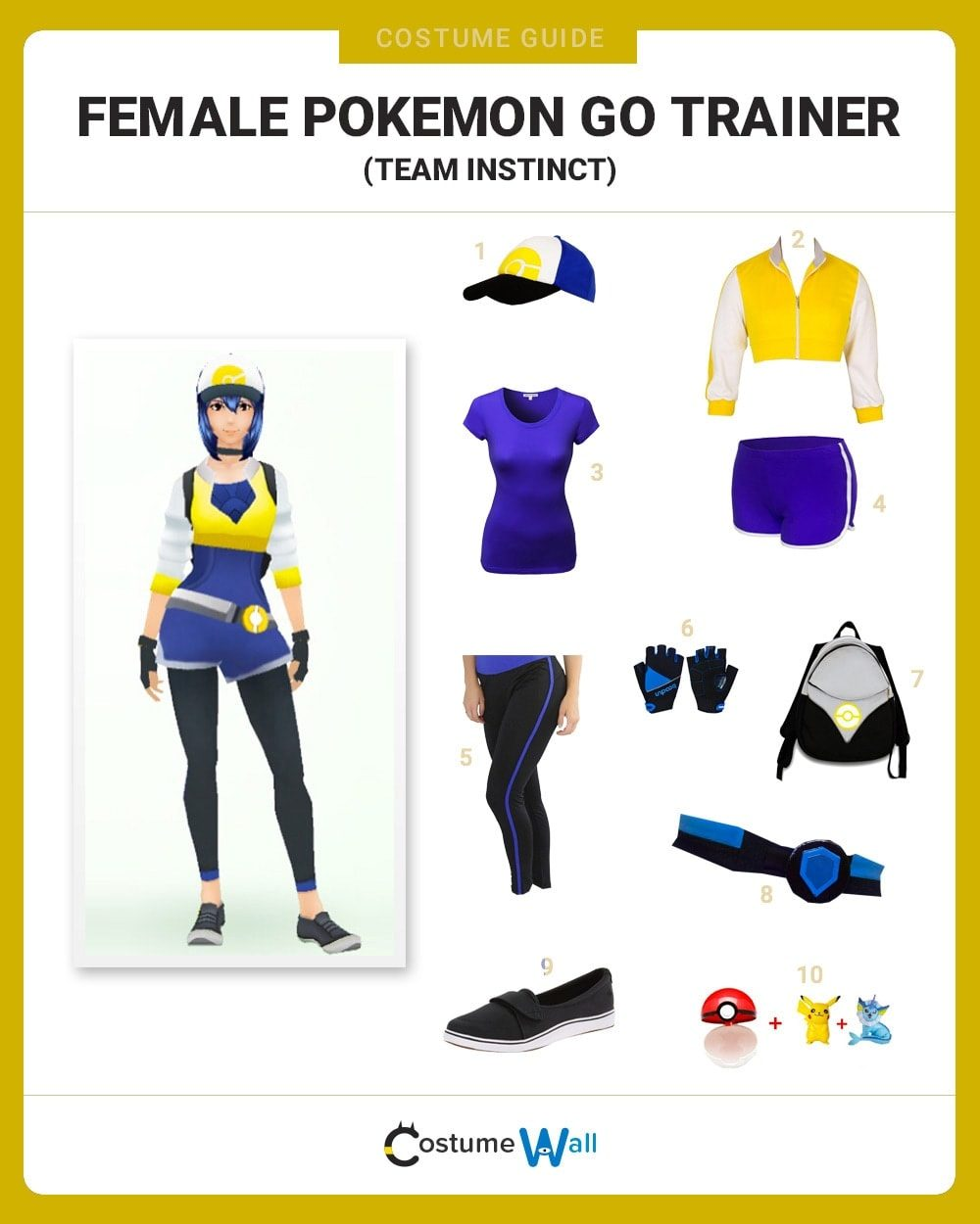 Instinct Trainer (F) Costume Guide