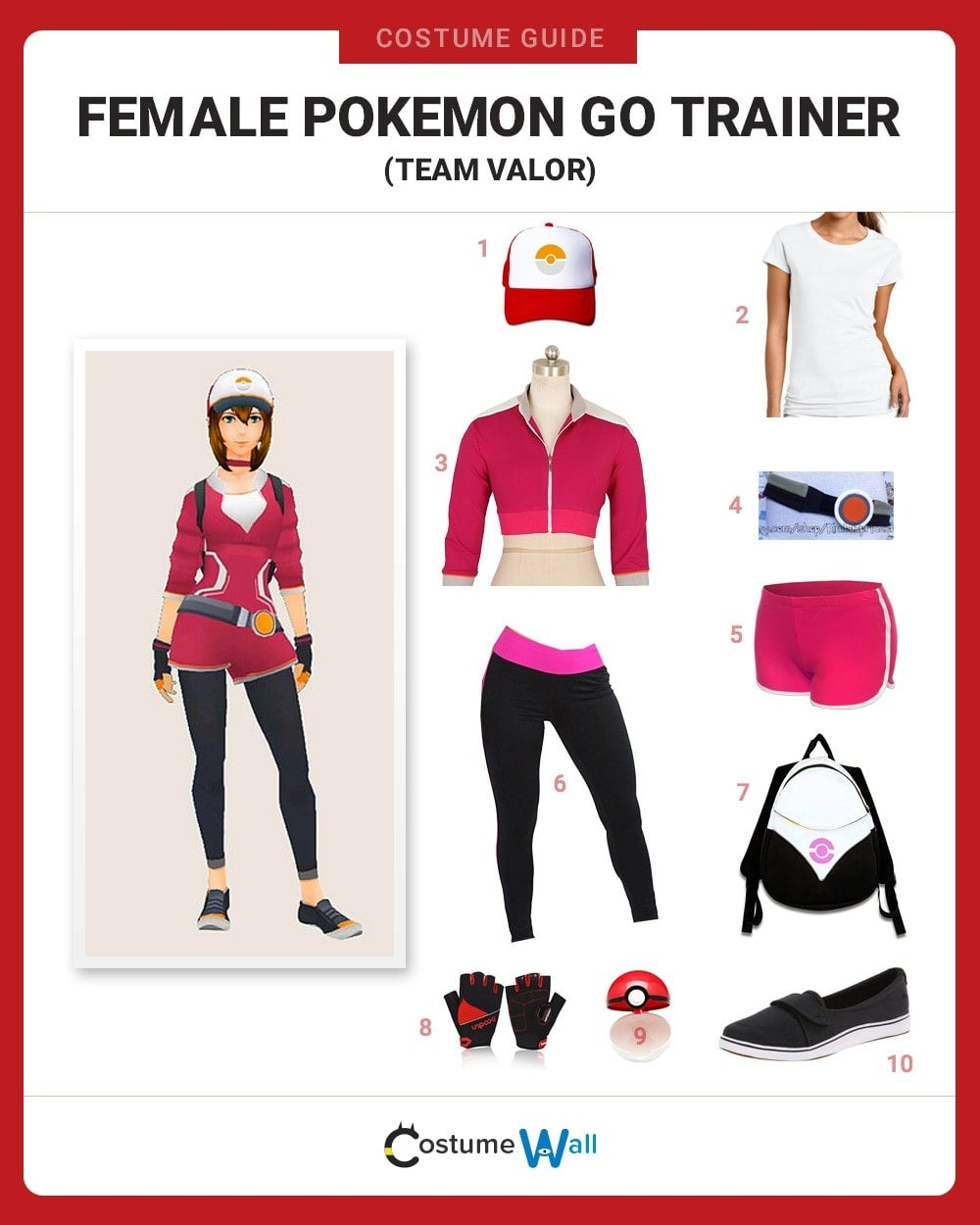 Valor Trainer (F) Costume Guide