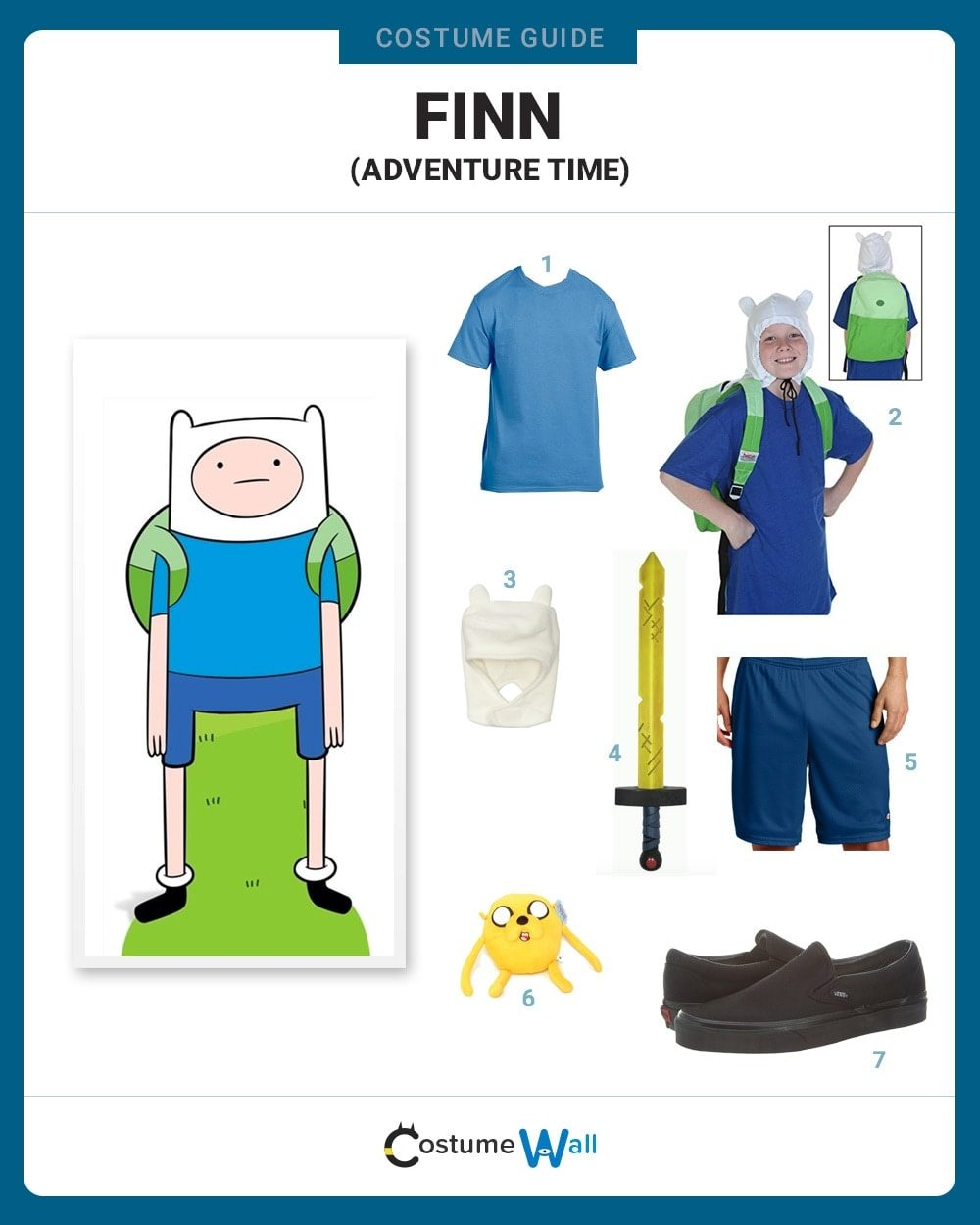 Finn the Human Costume Guide