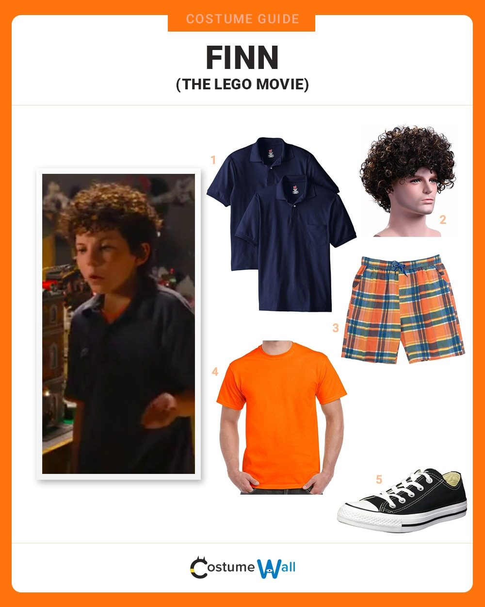 Finn (Lego Movie) Costume Guide