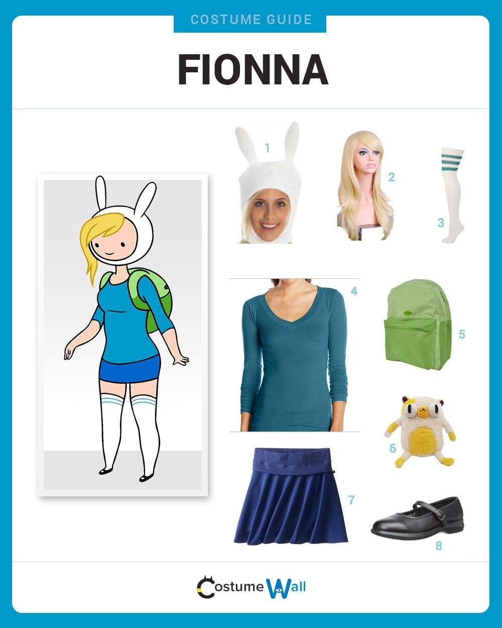 Fionna Costume Guide