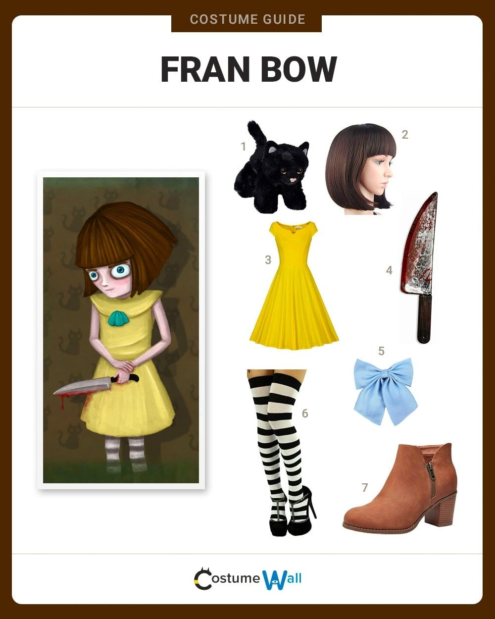 Fran Bow Costume Guide