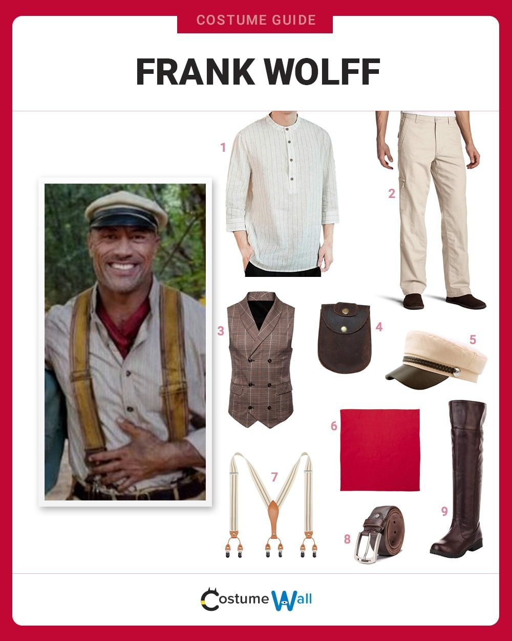 Frank Wolff Costume Guide