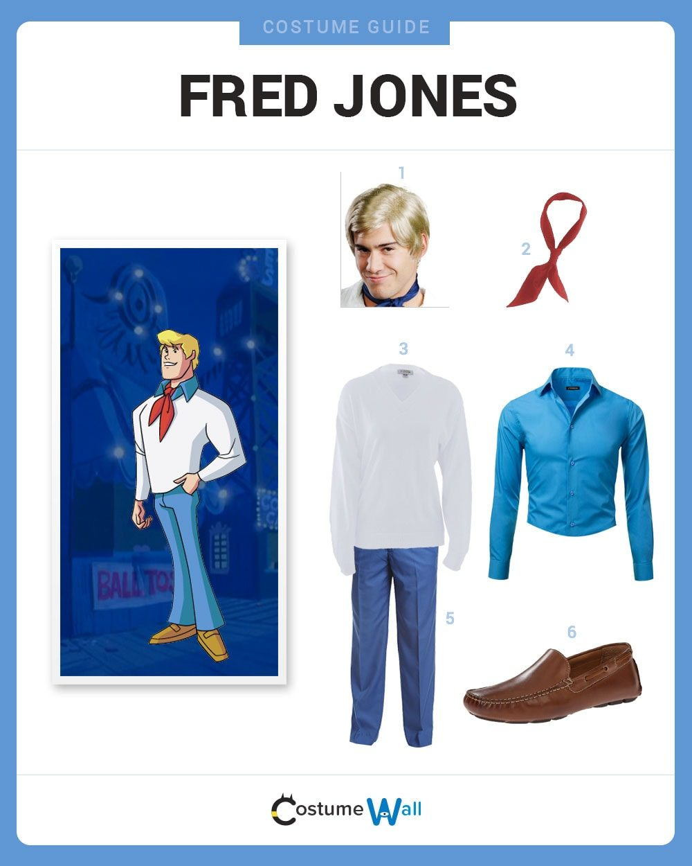 Fred Jones Costume Guide