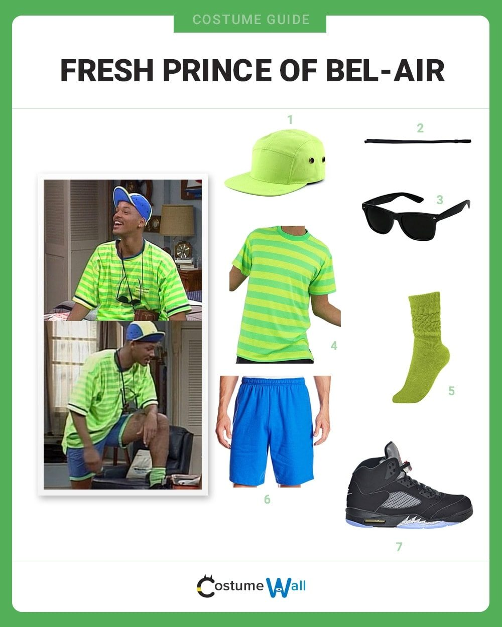 Fresh Prince of Bel-Air  Costume Guide