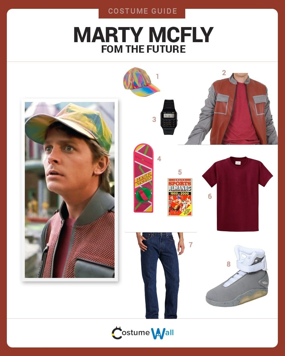 Future Marty McFly Costume Guide