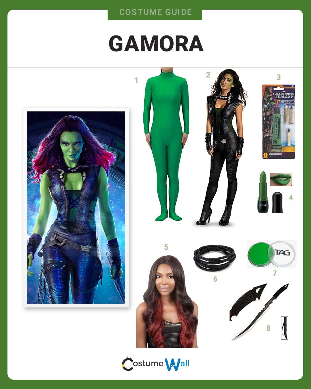 Gamora Costume Guide
