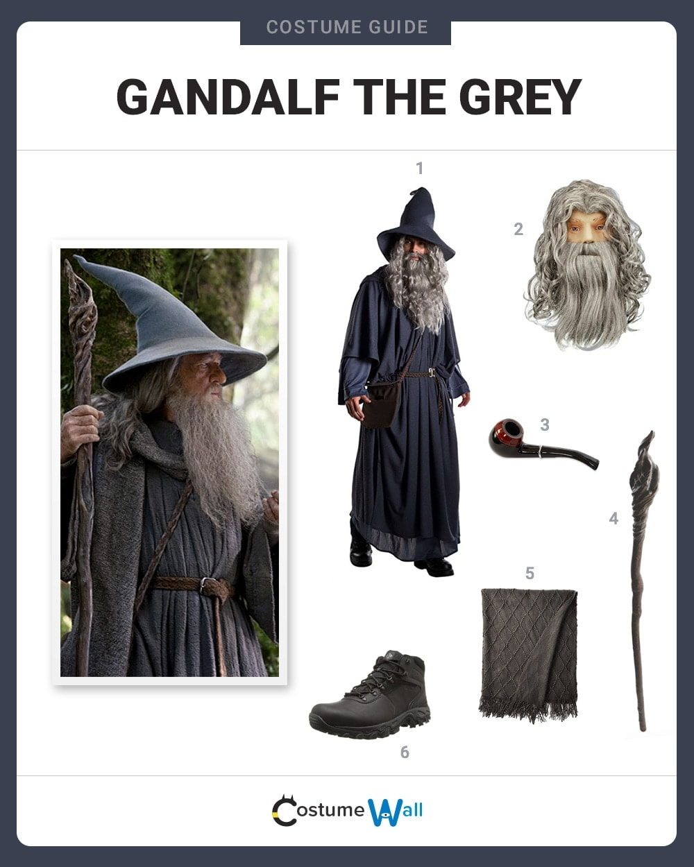 Dress Like Gandalf the Grey Costume | Halloween and Cosplay Guides