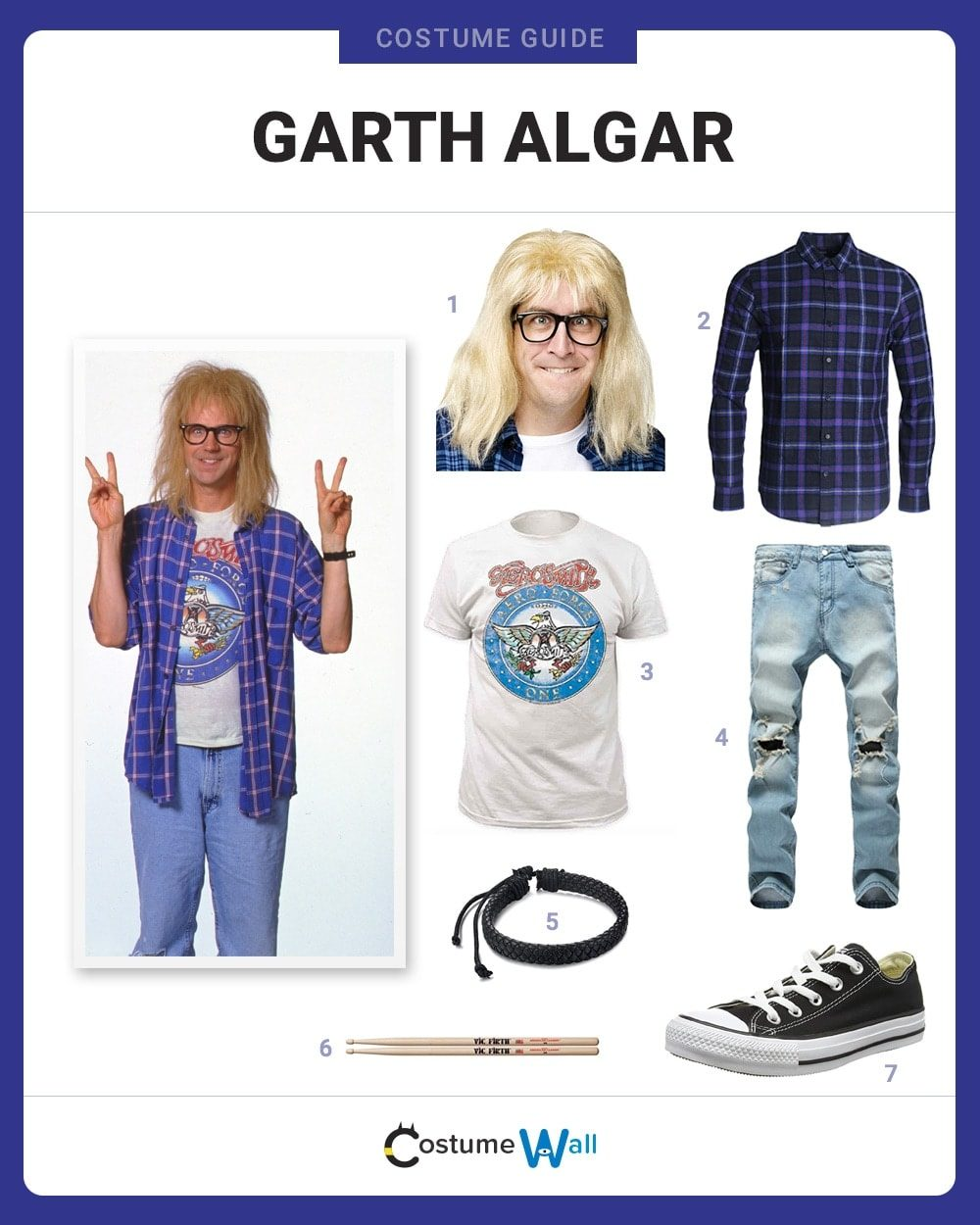 Garth Algar Costume Guide