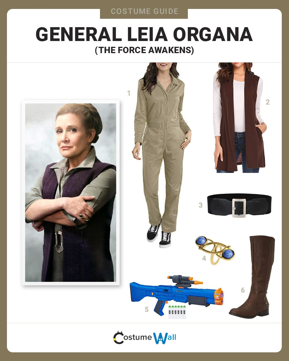 General Leia Organa Costume Guide