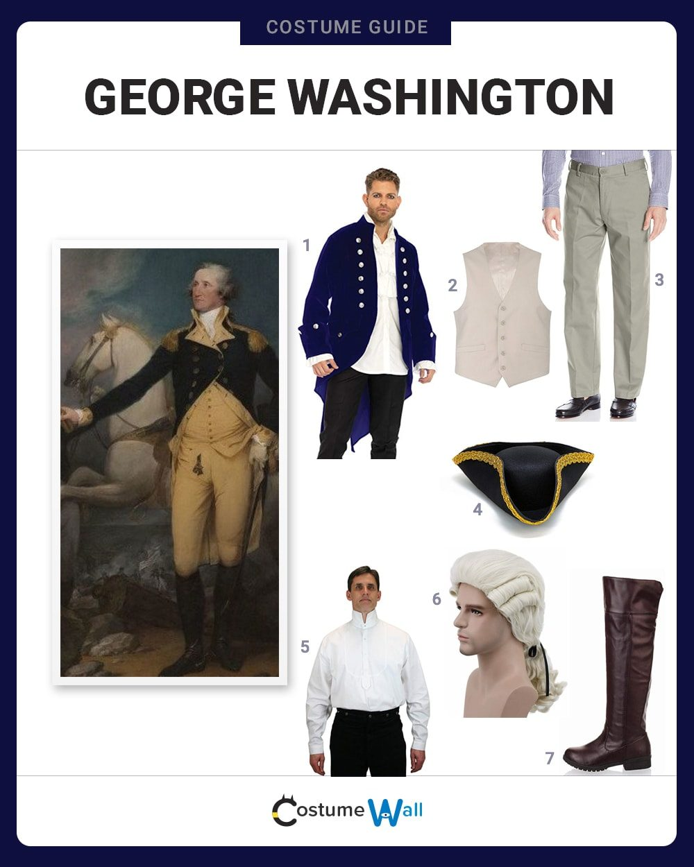 George Washington Costume Guide