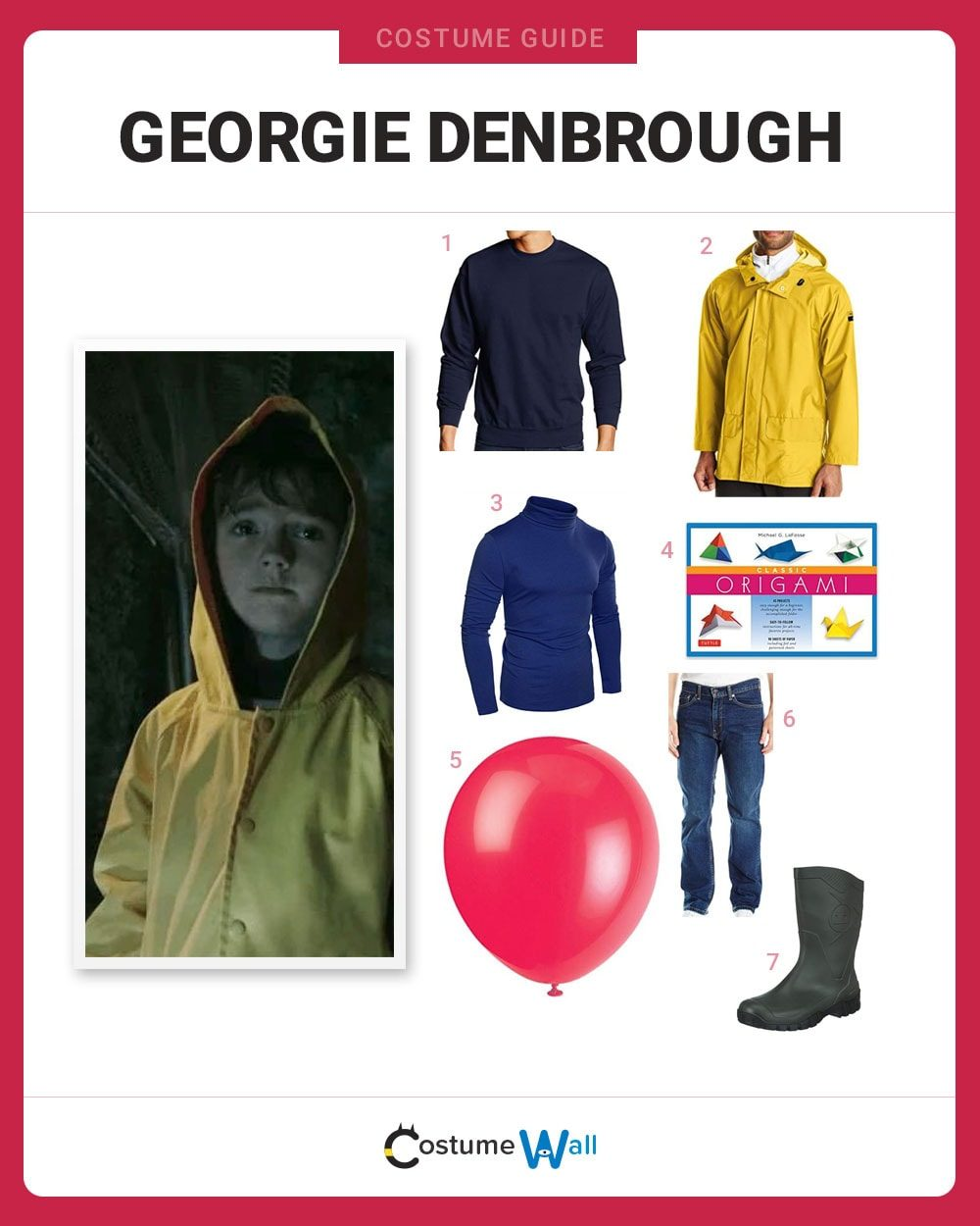 Georgie Denbrough Costume Guide