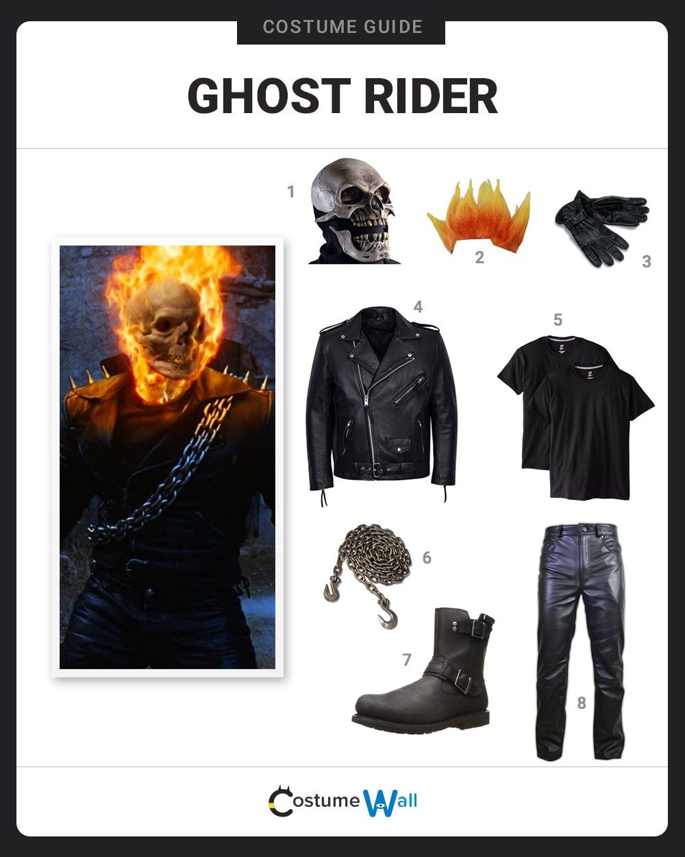 Ghost Rider Costume Guide