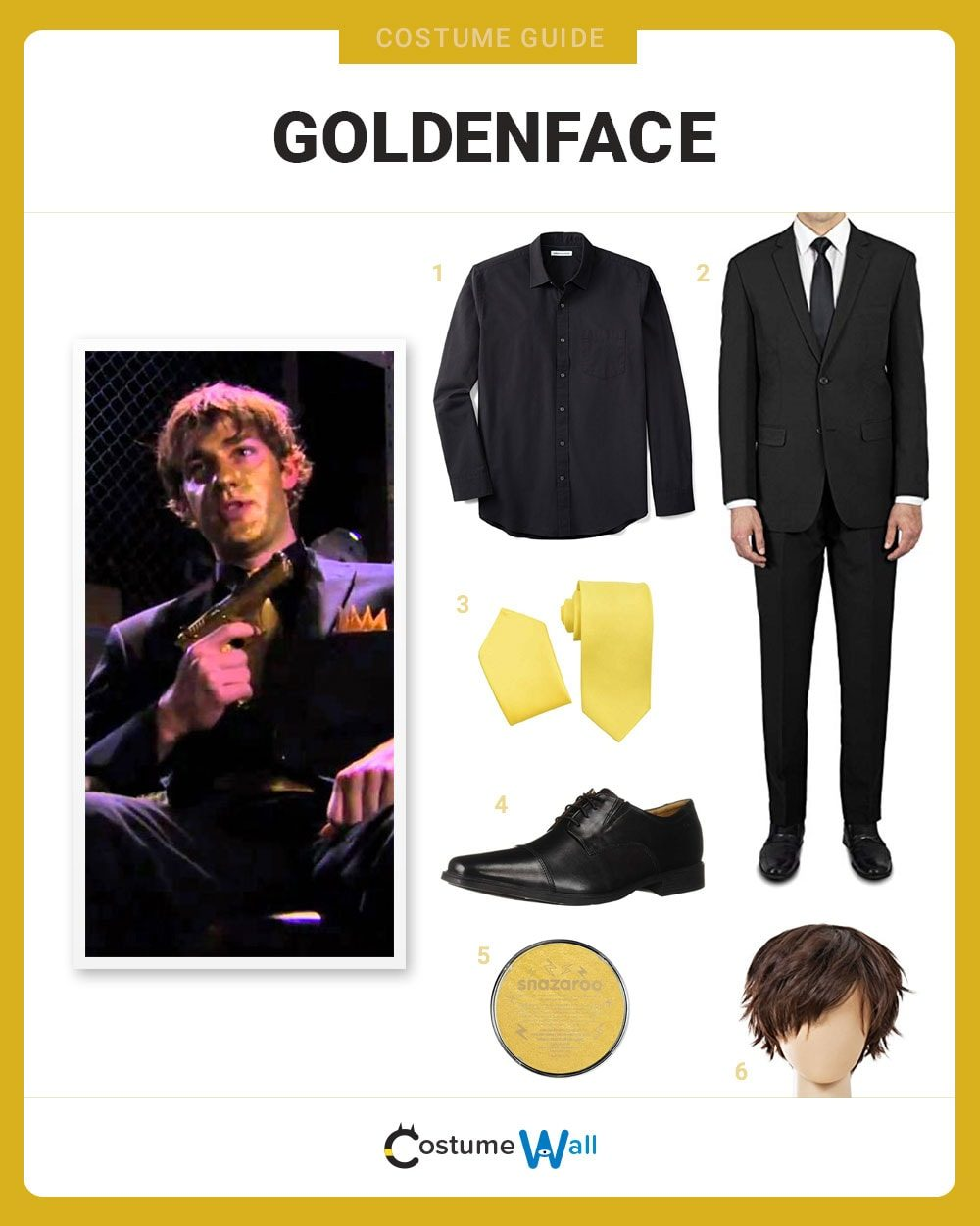 Goldenface Costume Guide