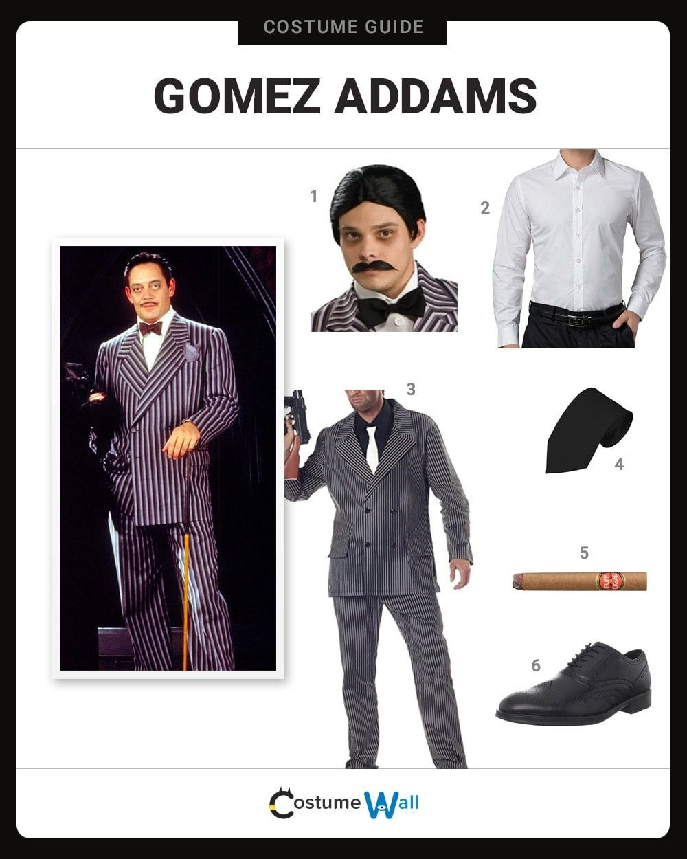 Dress Like Gomez Addams Costume Halloween And Cosplay Guides