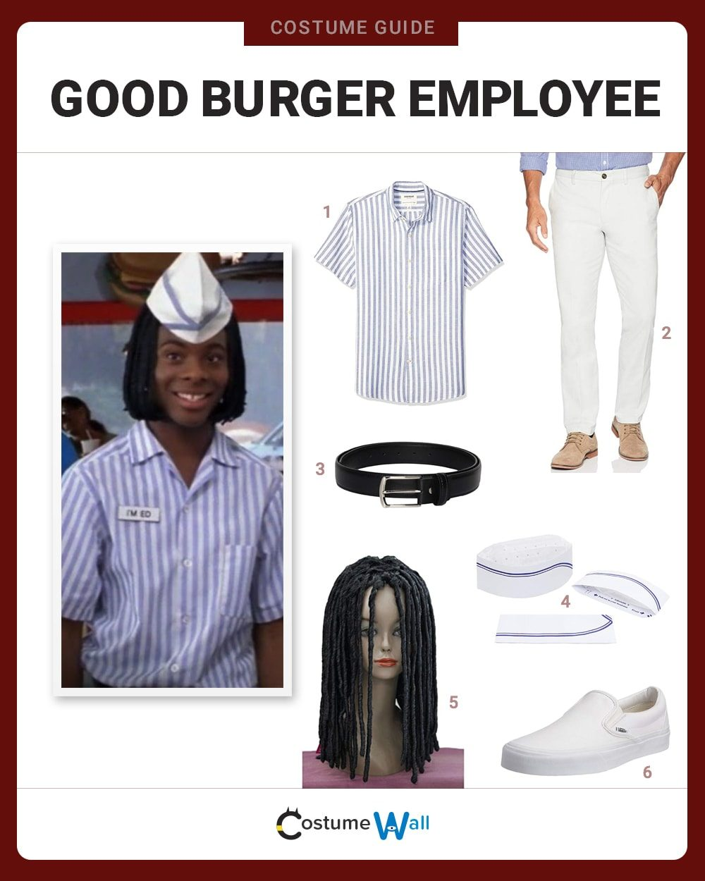 Good Burger Employee Costume Guide